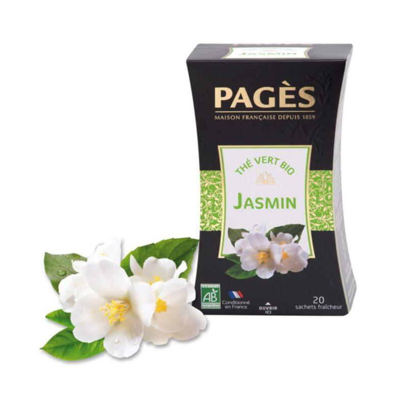 Thé vert Bio Jasmin