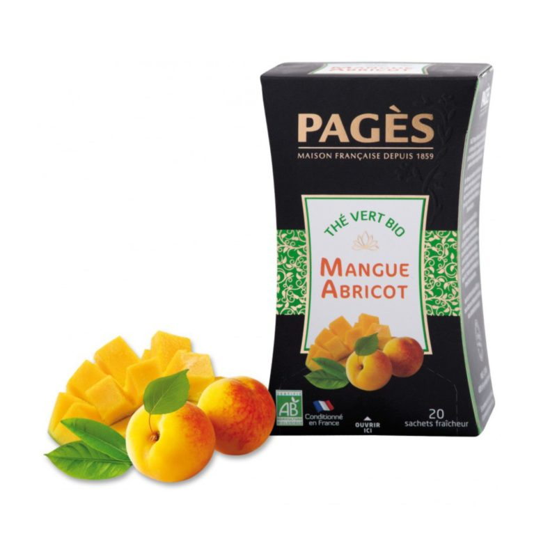 Thé vert Bio Mangue Abricot