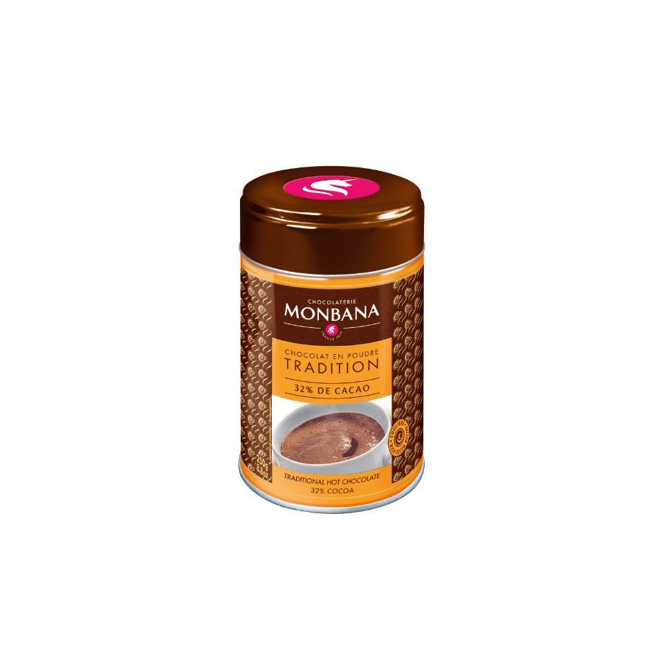 Chocolat en poudre 32% cacao - Boite 250 g