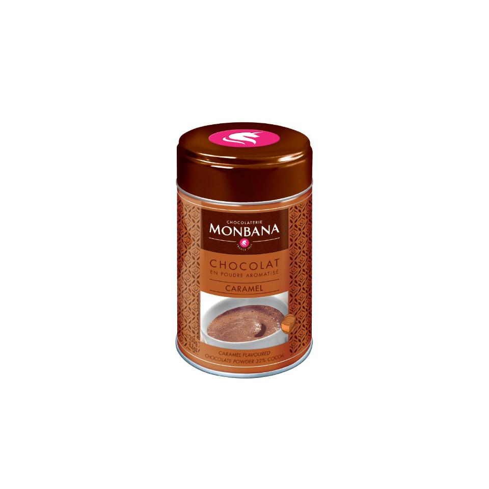 Chocolat en poudre aromatisé caramel - Boite 250 g