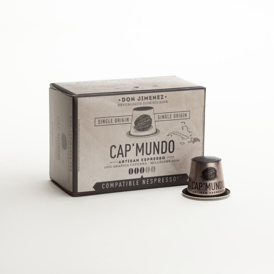 10 capsules compatibles Nespresso® - Don Jimenez