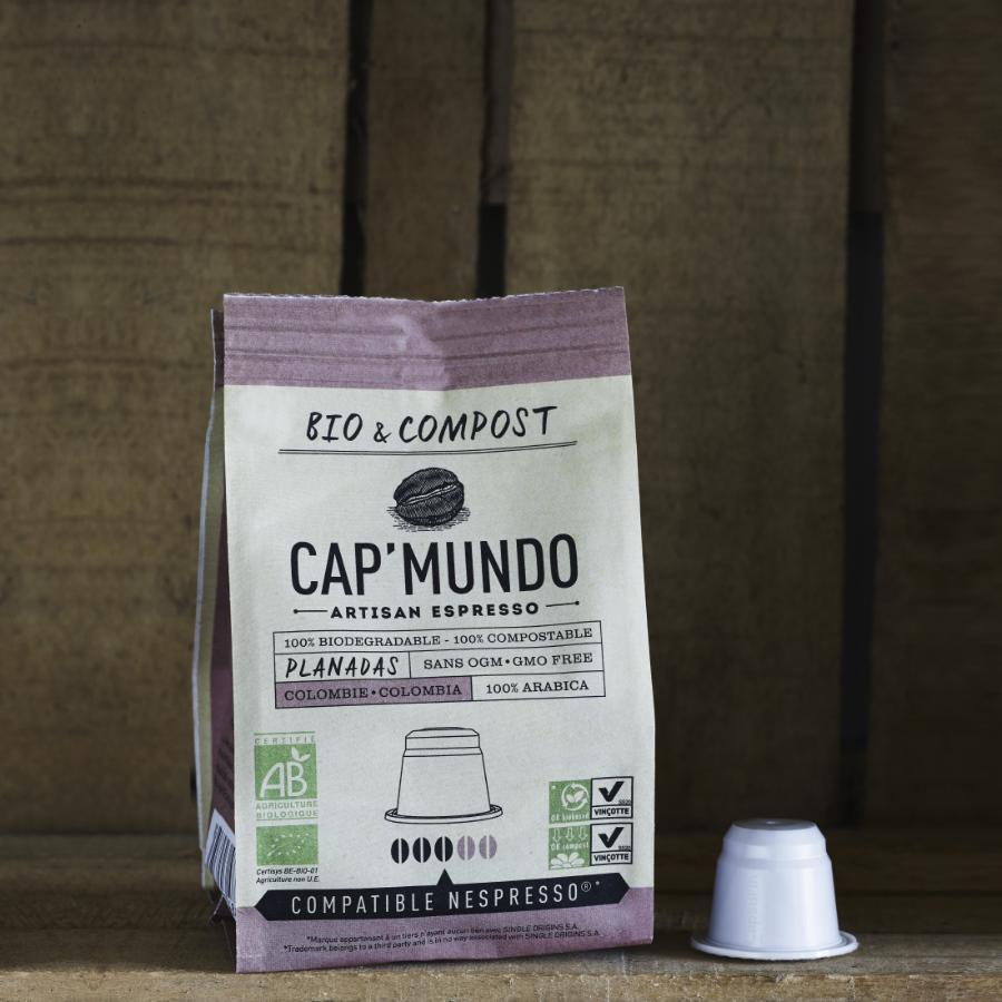 10 capsules bio compatibles Nespresso® - Planadas