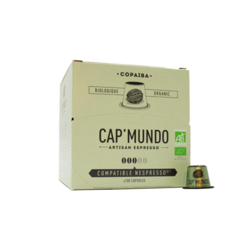 100 capsules compatibles Nespresso® - Copaiba