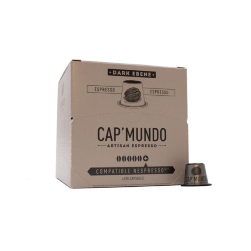 100 capsules compatibles Nespresso® - Dark Ebene