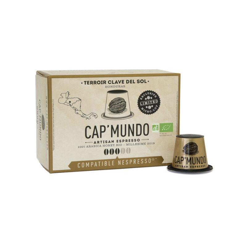 10 capsules compatibles Nespresso® - Clave del Sol
