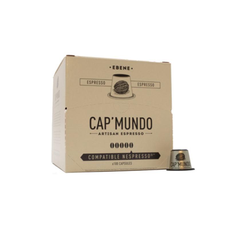 100 capsules compatibles Nespresso® - Ebene