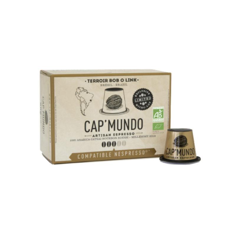 10 capsules compatibles Nespresso® - Bob O Link