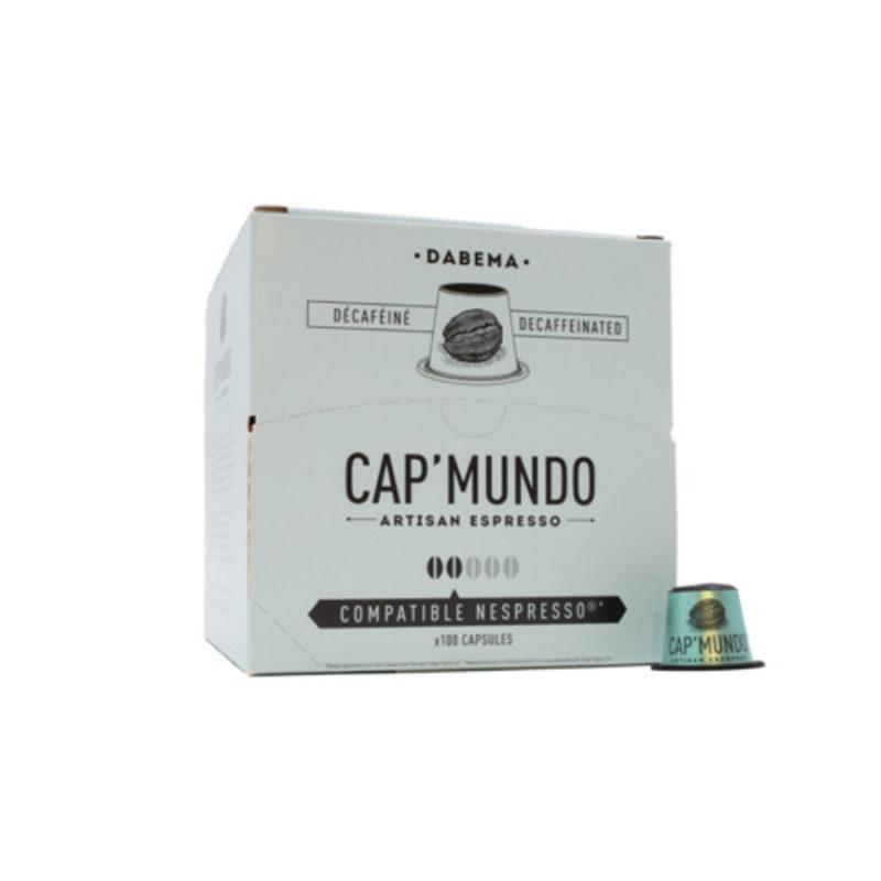 100 capsules compatibles Nespresso® - Dabema déca