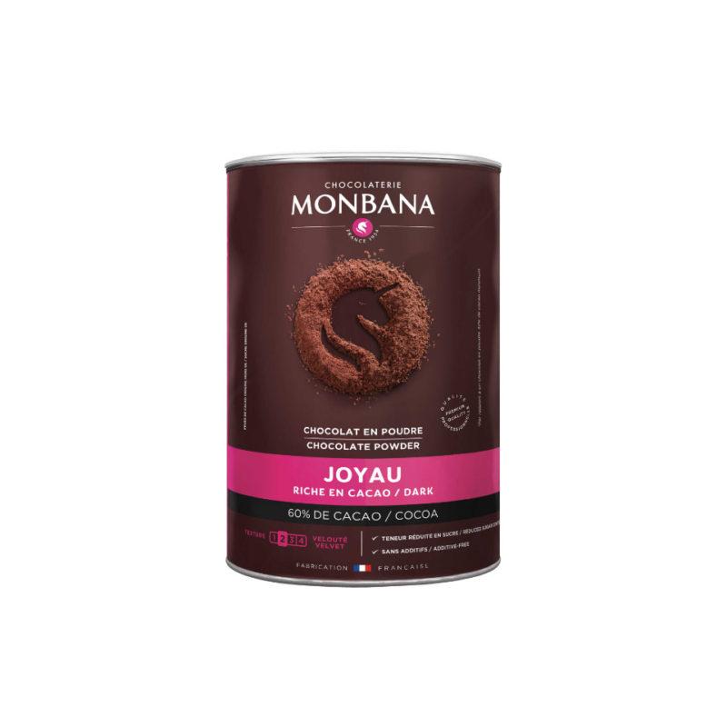 Chocolat en poudre 60% cacao - Boite 800g